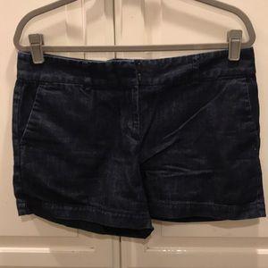 LOFT - The Riviera Dark Denim Shorts